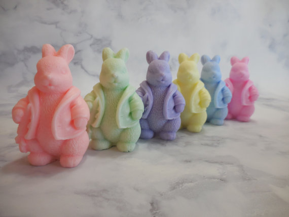 Easter Bunny Soap by CindysBathCreations Click Photo to Purchase