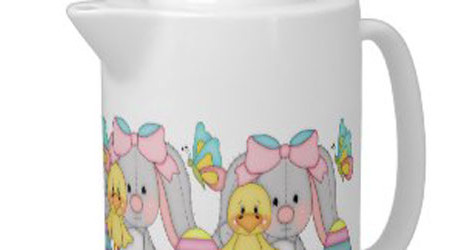 Easter Teapots: Whimsical and Charming