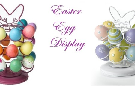Easter Egg Carousel Display