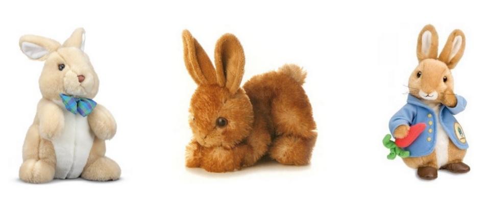 Plush Easter Bunnies