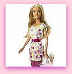 Easter Flower Barbie