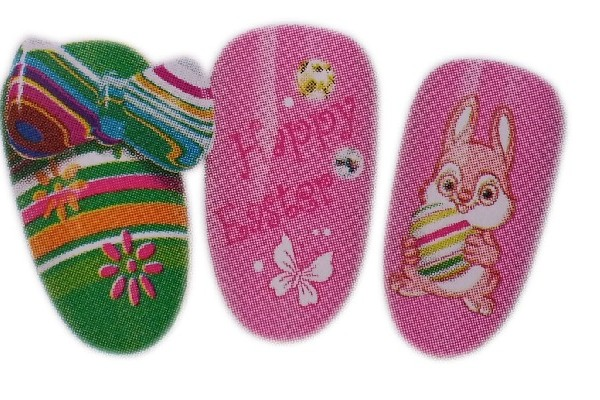 Easter Nail Art Tattoos Decals