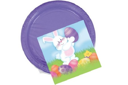 Easter Paper Plates & Napkins