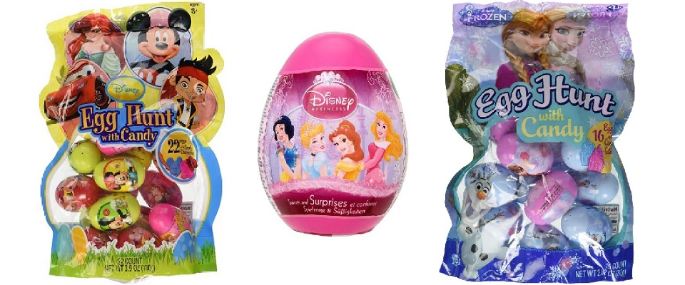 Disney Easter Eggs featuring Disney Characters