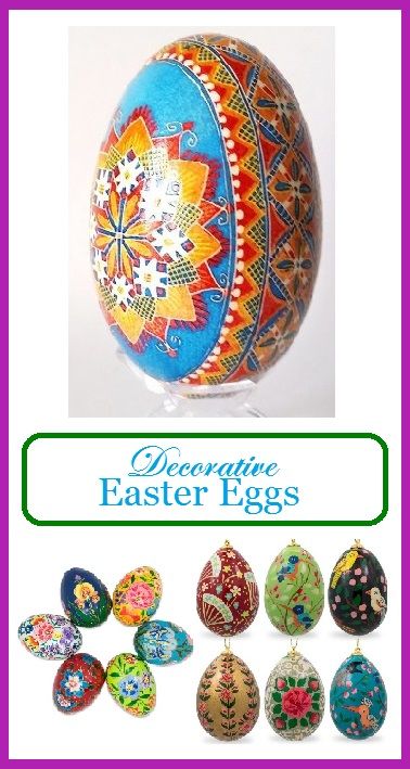 decorative easter eggs for easter trees amp decor easter decorating ideas for your outdoor space with regard
