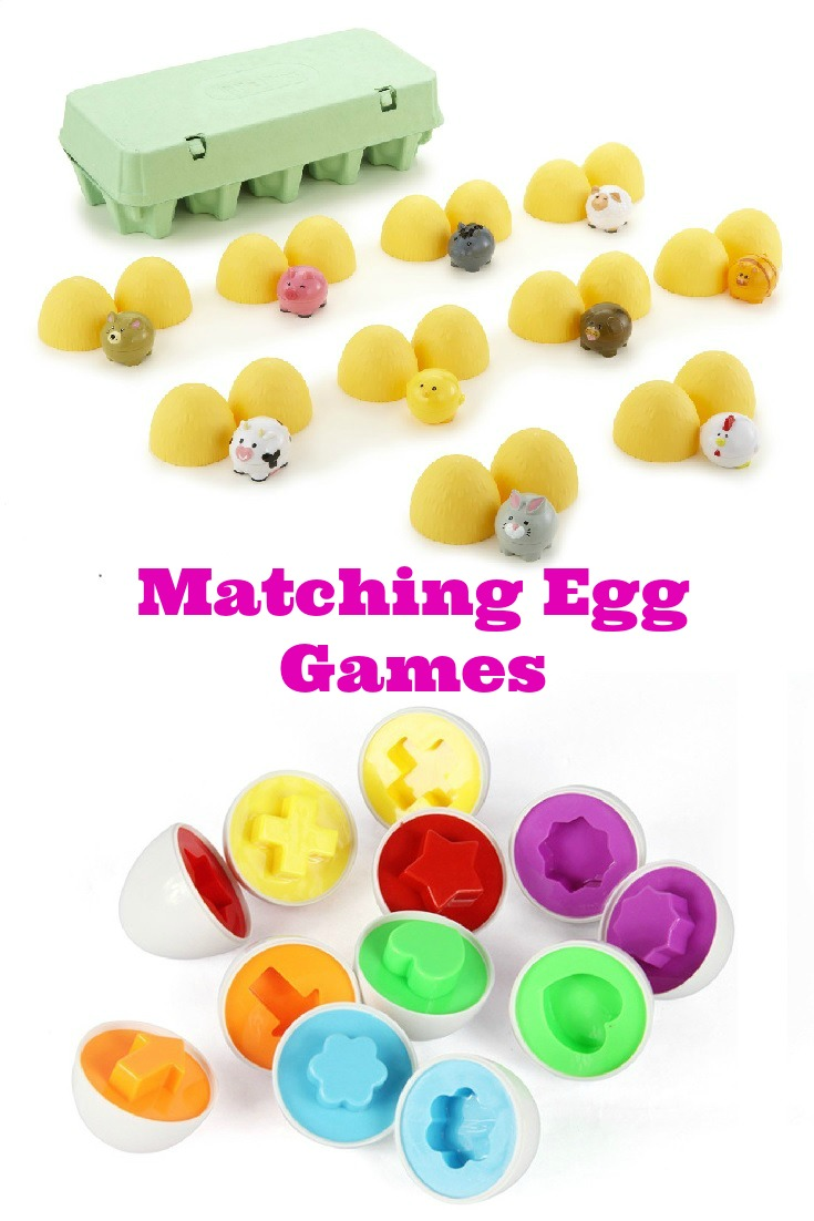 Matching Egg Games for Toddlers