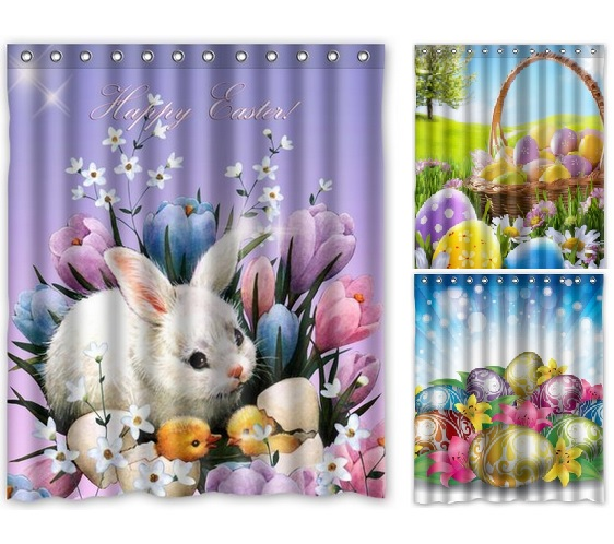 Http Eggcitingeaster Com Shower Curtains For Easter