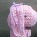 Handmade Crocheted Bunny to Love