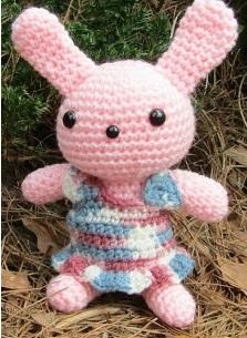 Handmade Easter Bunny