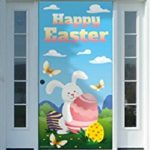 Pretty and Colorful Easter Door Covers
