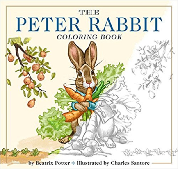 Peter Rabbit Coloring Books