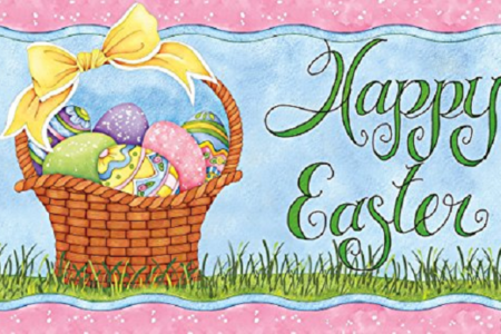 Easter Door Mats are a Lovely Holiday Greeting