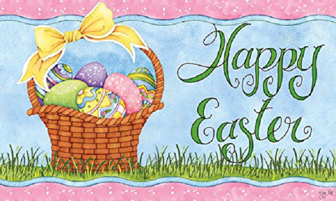 Indoor Outdoor Easter Door Mats