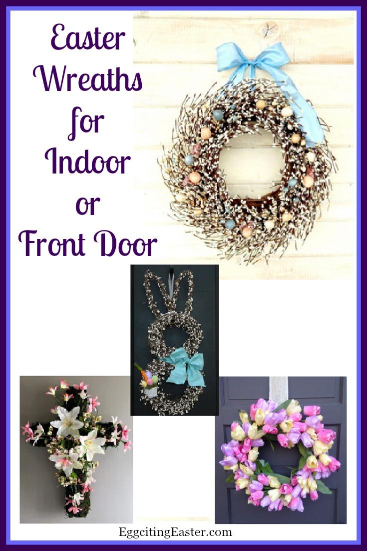 Easter Wreaths for Indoor & Front Door Decoration