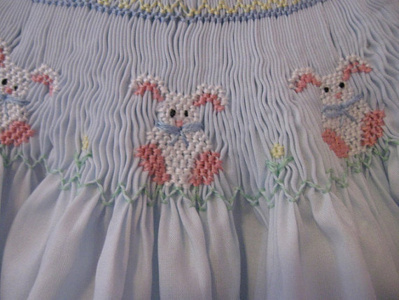 Adorable Smocked Easter Rompers and Outfits