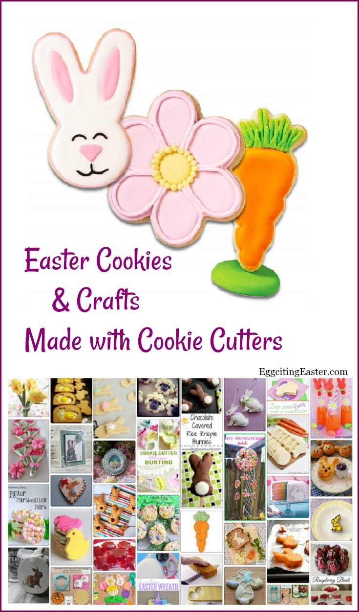 Easter Cookie Cutters Cookies & Crafts