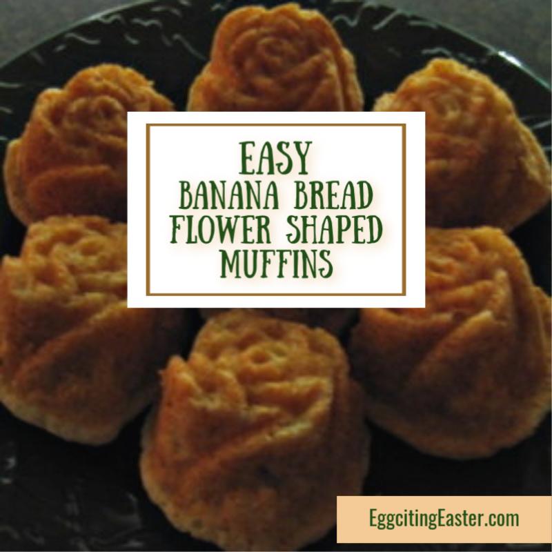 Banana Bread Rosettes